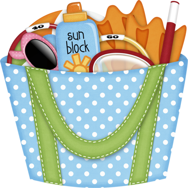 Bag clipart swimming bag. Summer pinterest clip