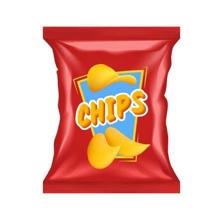 Bag of chips. Clipart images gallery for