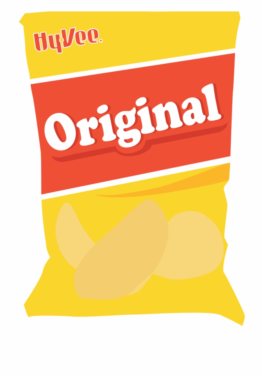 Bag of chips. Chip png clipart junk