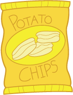 Bag of chips. Free cliparts download clip