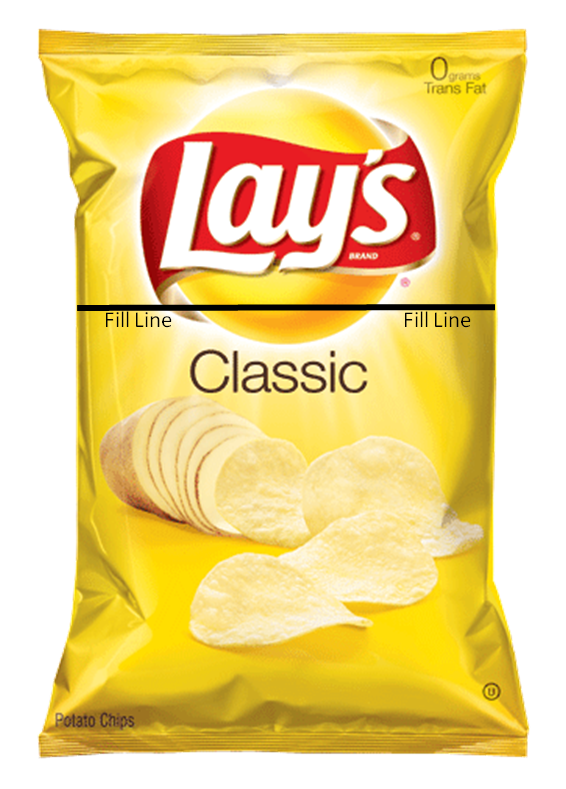 Bag of chips png. Is a empty or