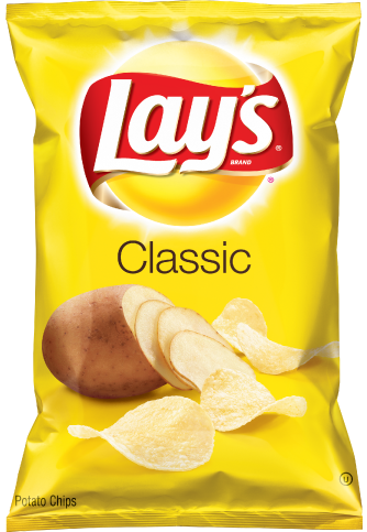 Bag of chips png. Lay s classic potato
