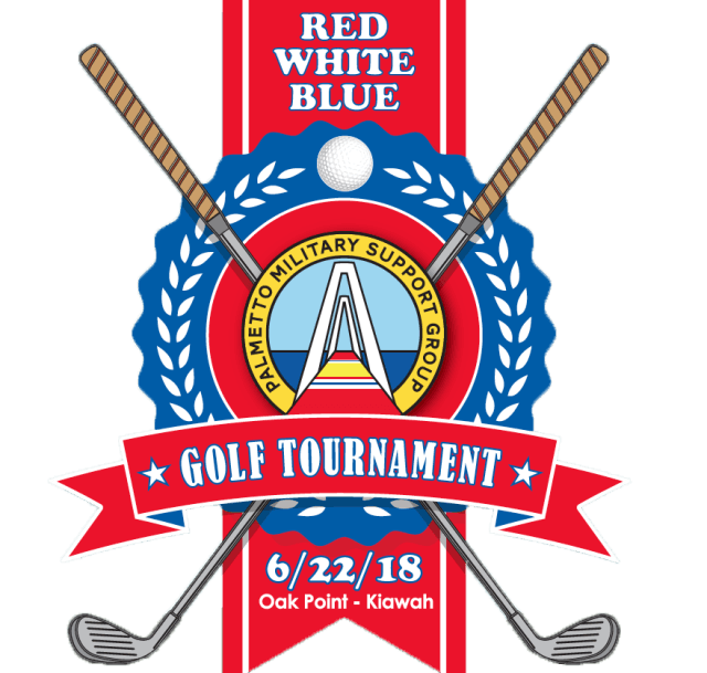 Bag tournament crest png. Palmetto military support group
