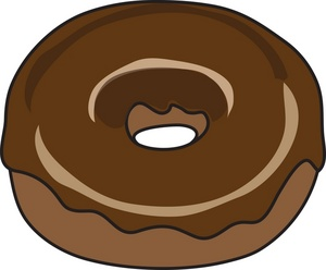 Bagel clipart animated. Chocolate pencil and in