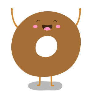 Bagel clipart animated. Coffee and free cliffs