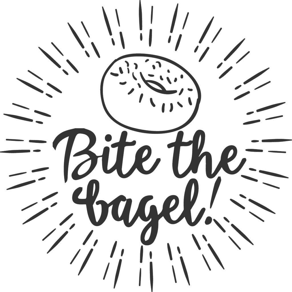 Bagel clipart black and white. Drawing at getdrawings com