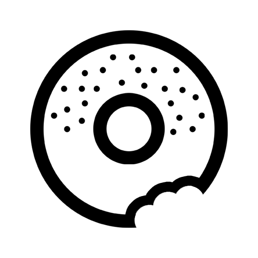 Bagel clipart black and white. Crunchy crunchybagel twitter