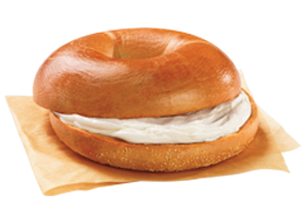 Bagel clipart egg. Bagels dunkin donuts a