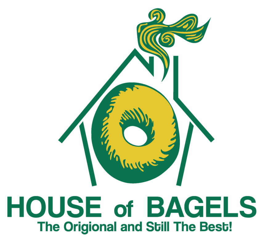 Bagel clipart yellow. House of bagels mountain
