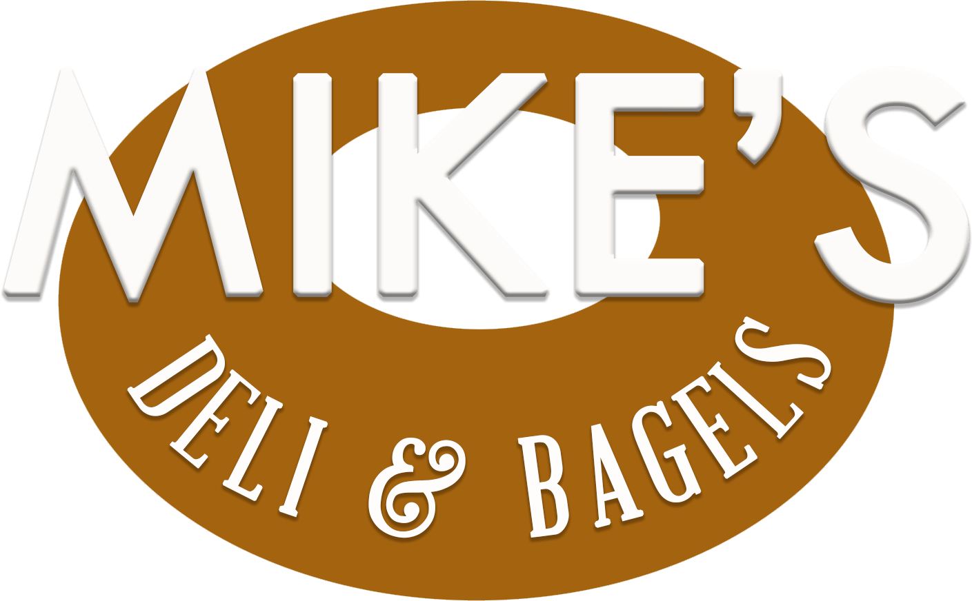 Bagel clipart yellow. Mike s deli and