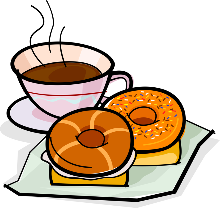 Donuts vector illustrator
