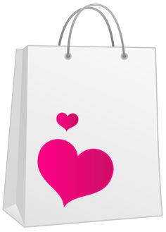 Bags clipart giftbag. Valentine pink gift bag