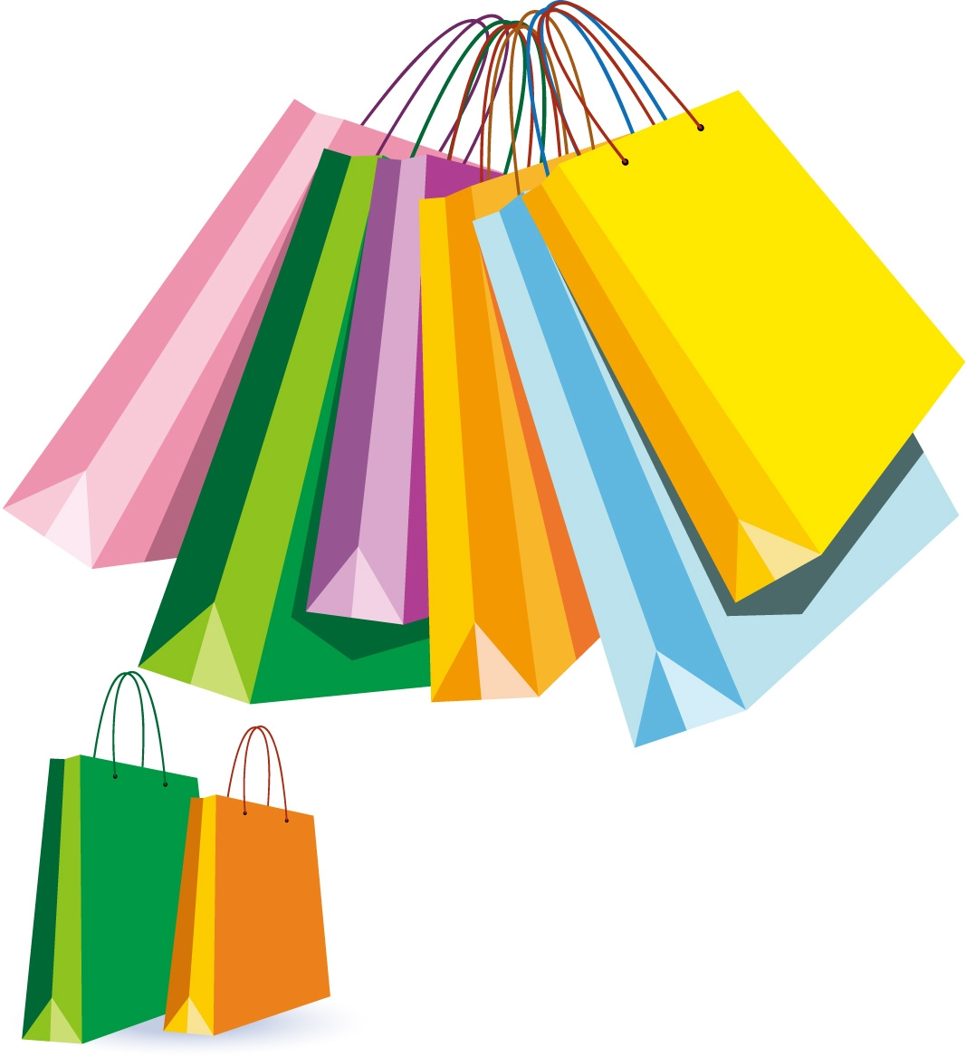 Bags clipart shooping. Unique shopping bag design