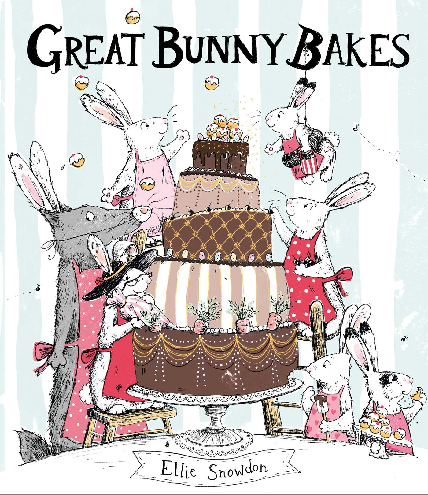 Bake clipart baking competition. Great bunny bakes ebook