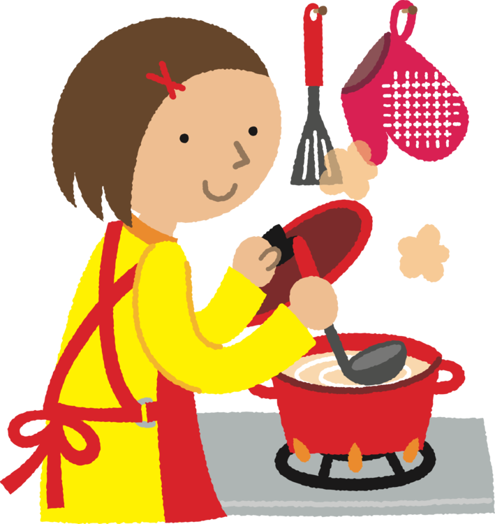 Cartoon clipart kitchen. Cooking chef nabemono computer