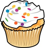 Baked goods clipart banner black and white library