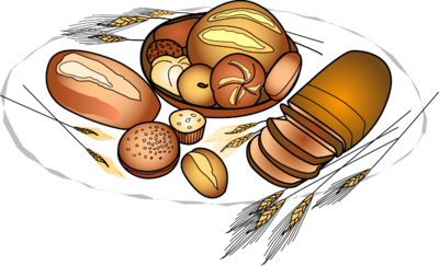 Image food clip art. Baked goods clipart png library stock