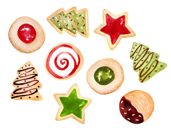 Baked goods clipart coockie. Christmas cookies baking bakery