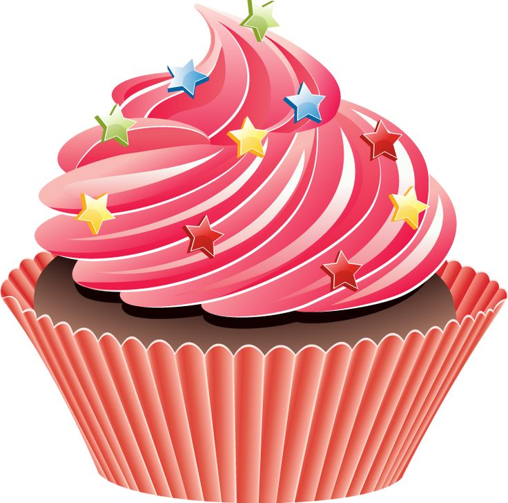 Pictures clipart cupcake. Best images on pinterest