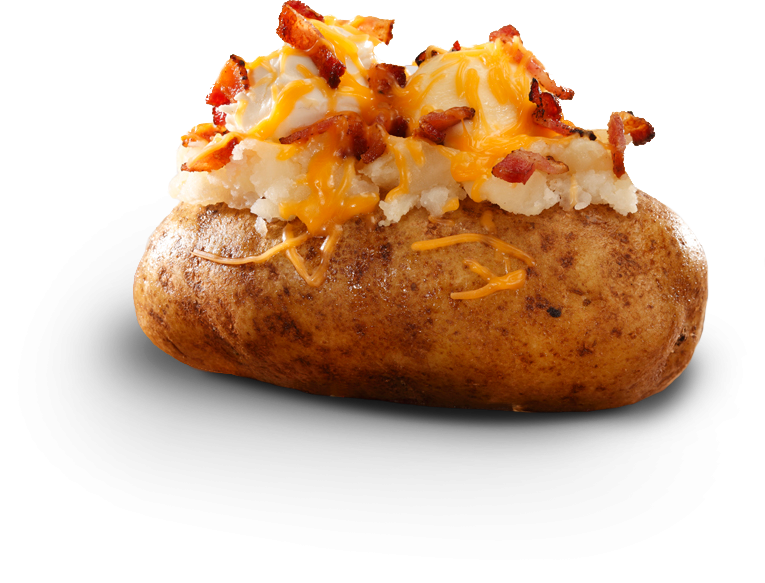 baked potato png