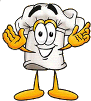 Baker clipart. Taking bread from oven