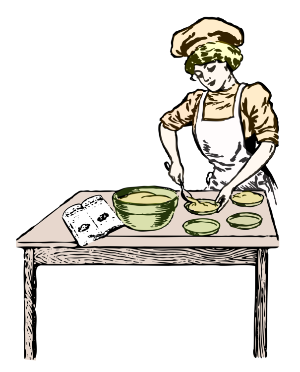 Baker drawing medieval. Bakery computer icons baking