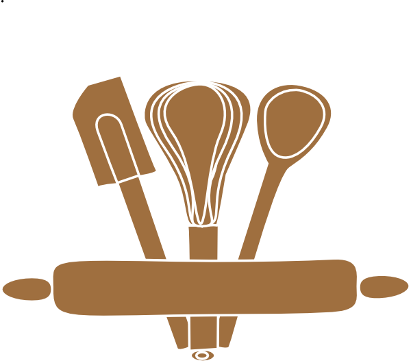 Utensils vector baking. Rolling pin clipart free