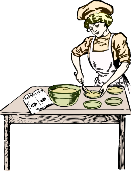 Baker drawing clip art. Collection of free cooly