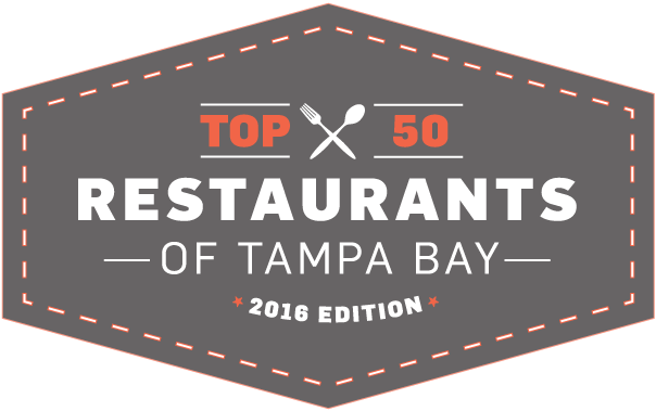 Diner drawing outdoor seating. Top restaurants of tampa