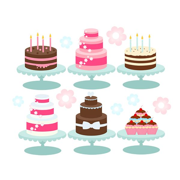 Cake clipart cake design. Cakes bakery cupcakes birthday
