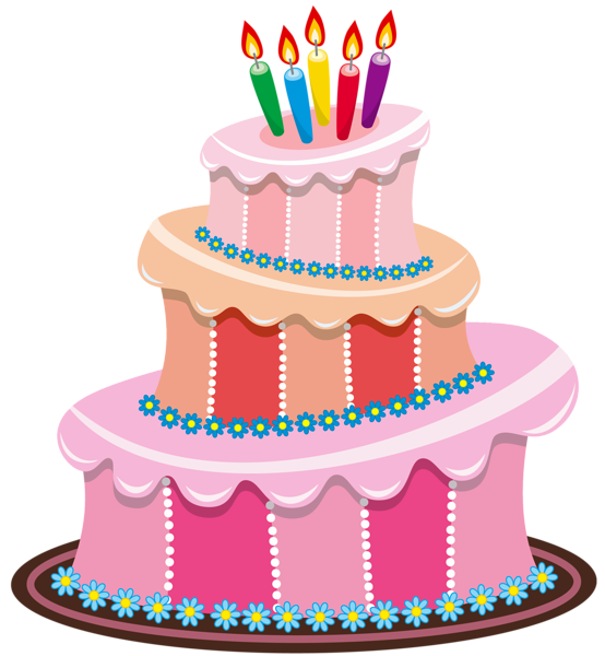 Cake clipart. Cute birthday gallery free jpg