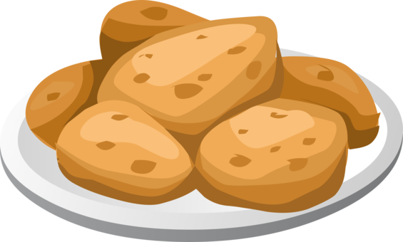 Bakery clipart freshly baked bread. Potato mashed french fries