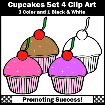 Cupcake set commercial use. Baking clipart cooking baking vector transparent download