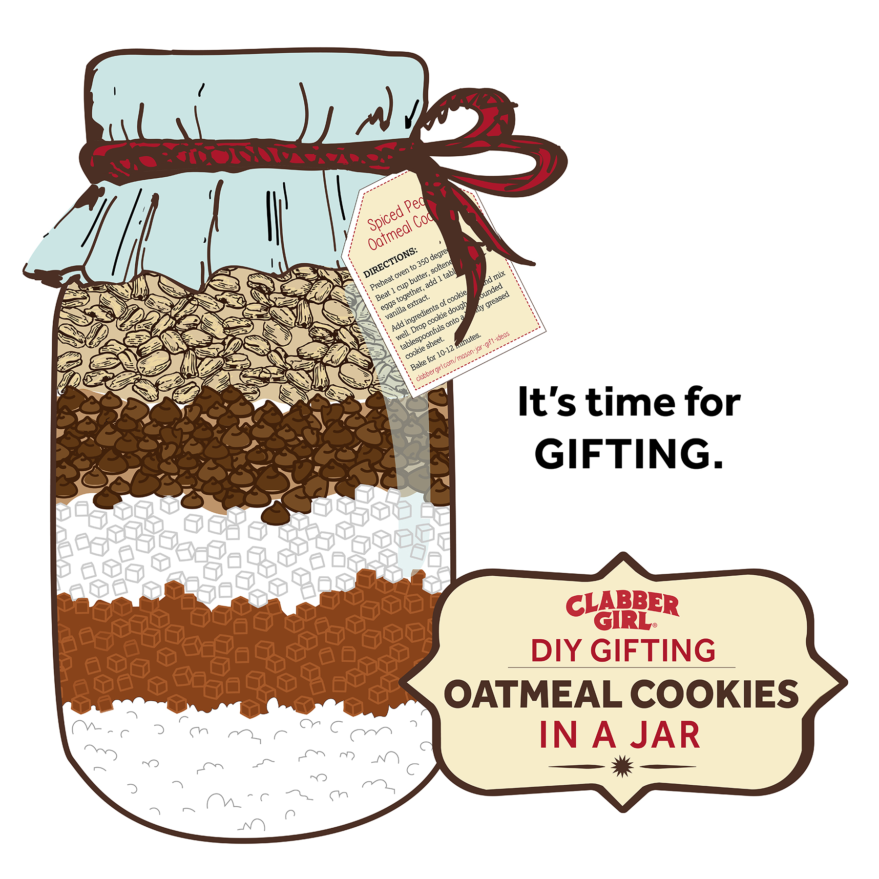 Oven clipart cookie. Baking mix clabber girl
