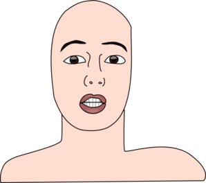 Bald clipart bald girl.