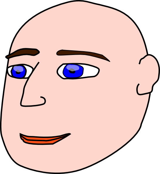 Bald clipart bald girl. Introduction guy