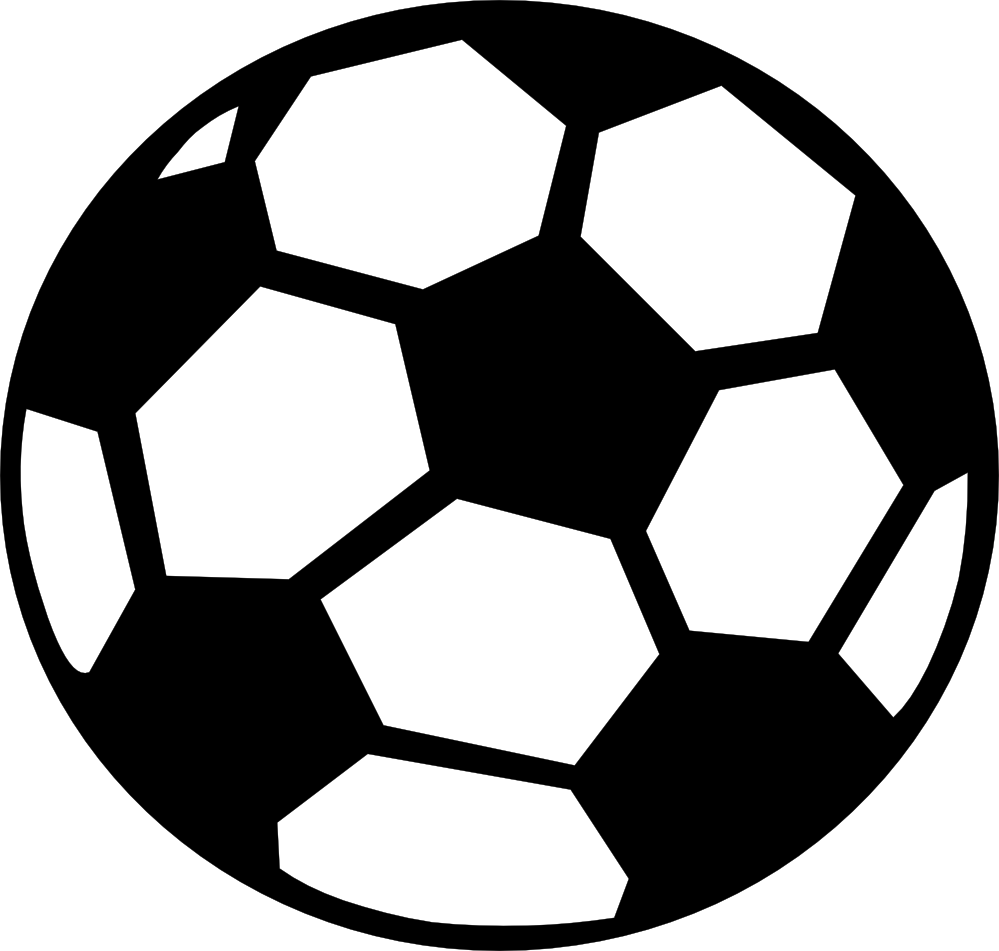 Clipart black and white. Ball clip download