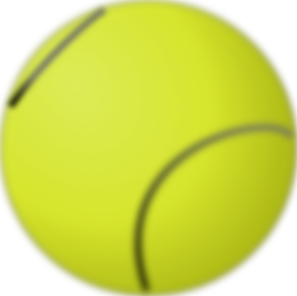 Ball clip animated. Gioppino tennis art at