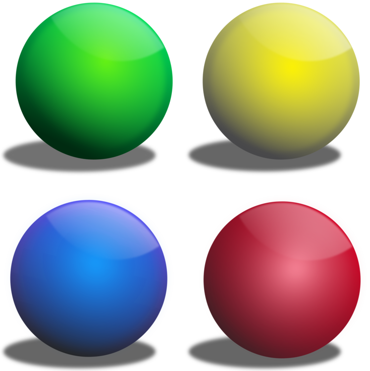 Ball clip color. Coloring book sphere download