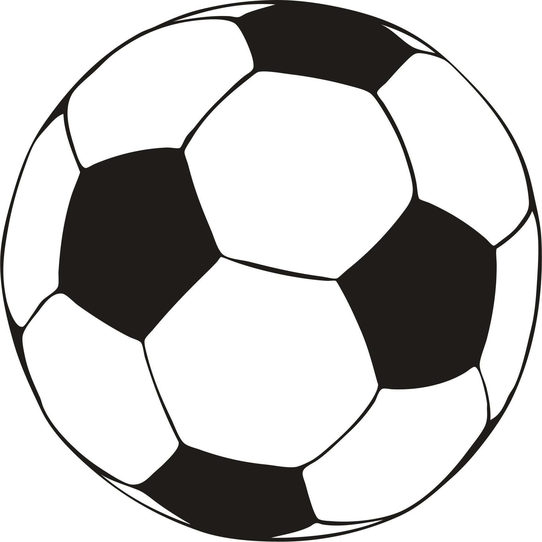 Ball clip colouring image. Soccer coloring pages download
