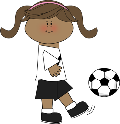 soccer ball clipart kicking