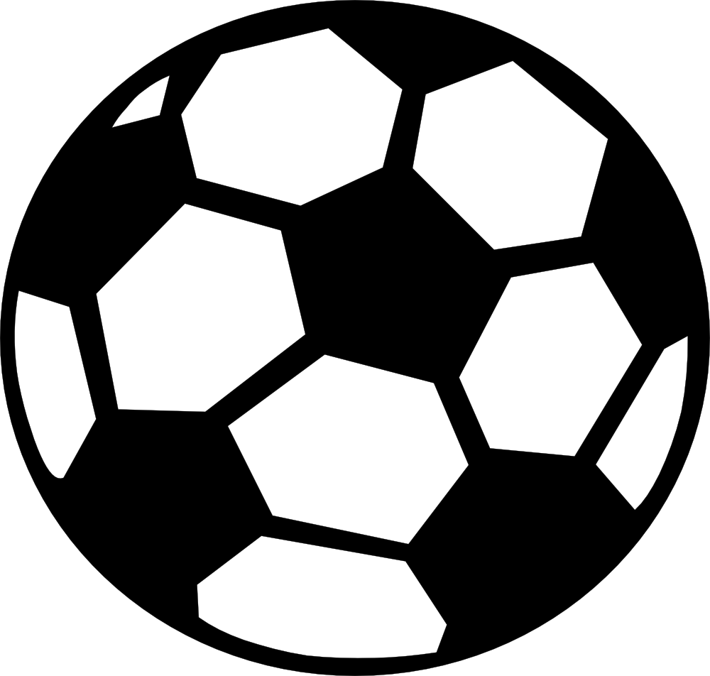 Ball clip large. Soccer art free images