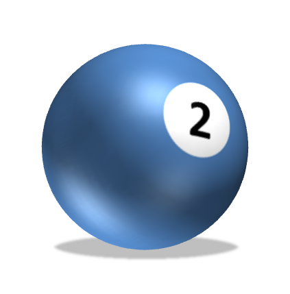 Ball clip light object. Drawing in powerpoint spheres