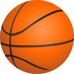 Basketball art at clker. Ball clip orange picture stock