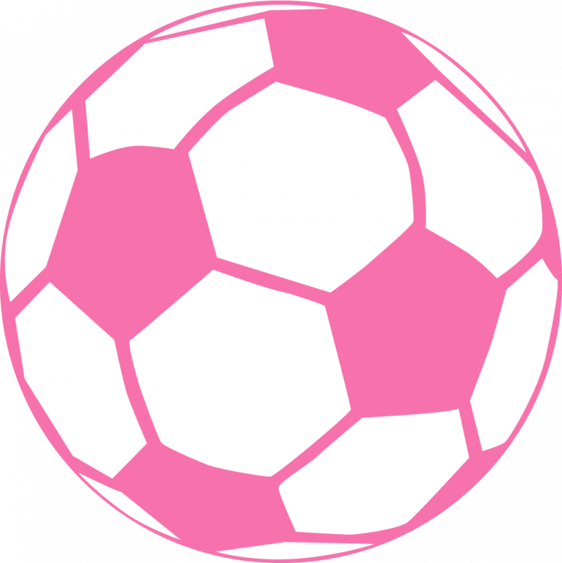 soccer ball png pink