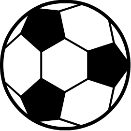 Ball clip rolling object. Image soccer body png