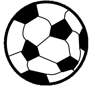 Ball clip round. Image soccer png the