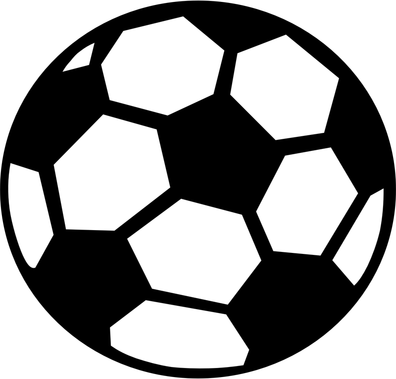 Ball clip stencil. Silhouette soccer at getdrawings