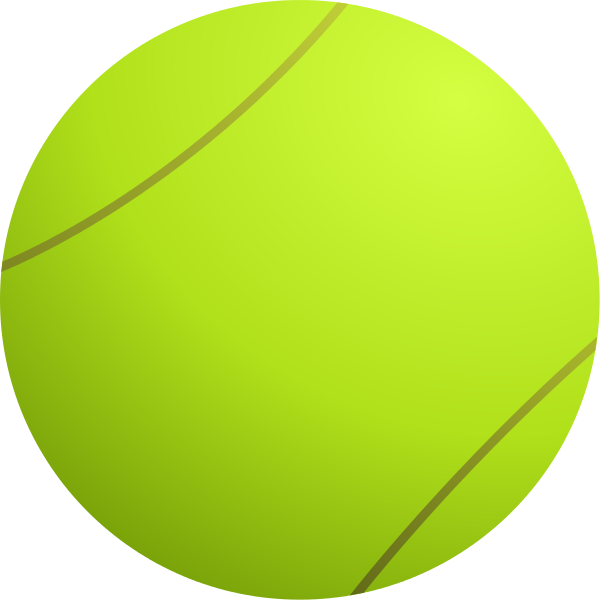 Ball clip tennis. File svg wikipedia other