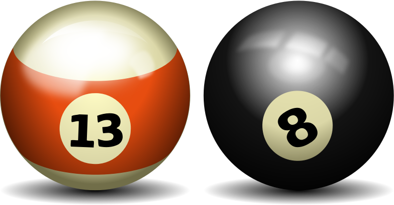Balls clipart billiards. Image for pool ball